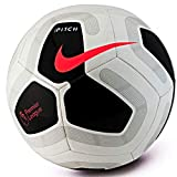 Nike Pitch Premier League 2019-2020 Ballon de football Blanc/Noir Rouge Taille 5