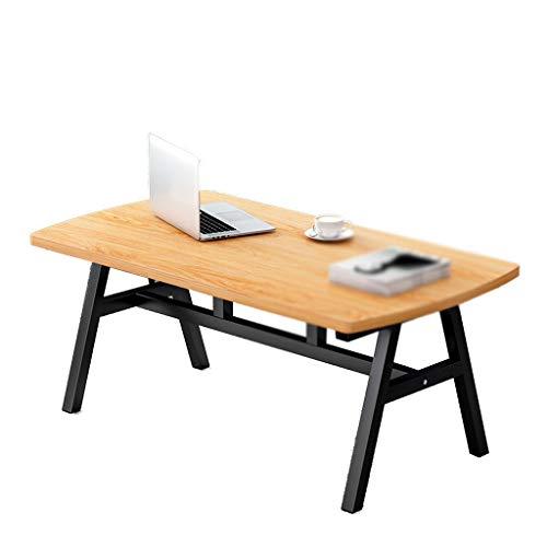 HWH Madera mesa de comedor, grandes patas de la mesa de metal plegable Mesa de cocina del restaurante Tabla de Negociación de recepción Sala Conveniente y hermoso ( Color : C , Size : 80*40*45CM )