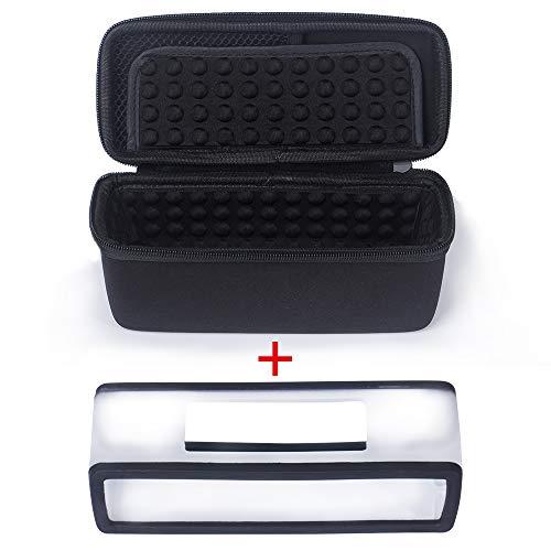 Poschell Harte stoßfest Reise Tasche mit weicher Abdeckung für Bose SoundLink Mini 1 und Mini 2 Bluetooth Lautsprecher