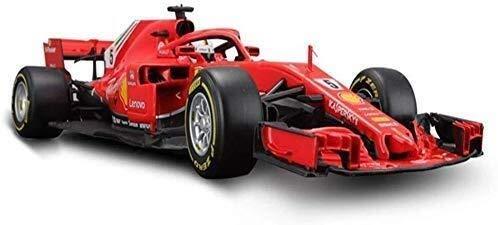 NOBRAND Ferrari F1 FS90 Conmemorativa Modelo de edición Car Kit 1,18 Escala, un Modelo de Coche Coche Modelo Kitt Modelo de Caballero (Color : A)