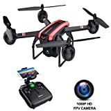 SANROCK X105W WIFI FPV Drone: Great Gifts for Beginners and ...