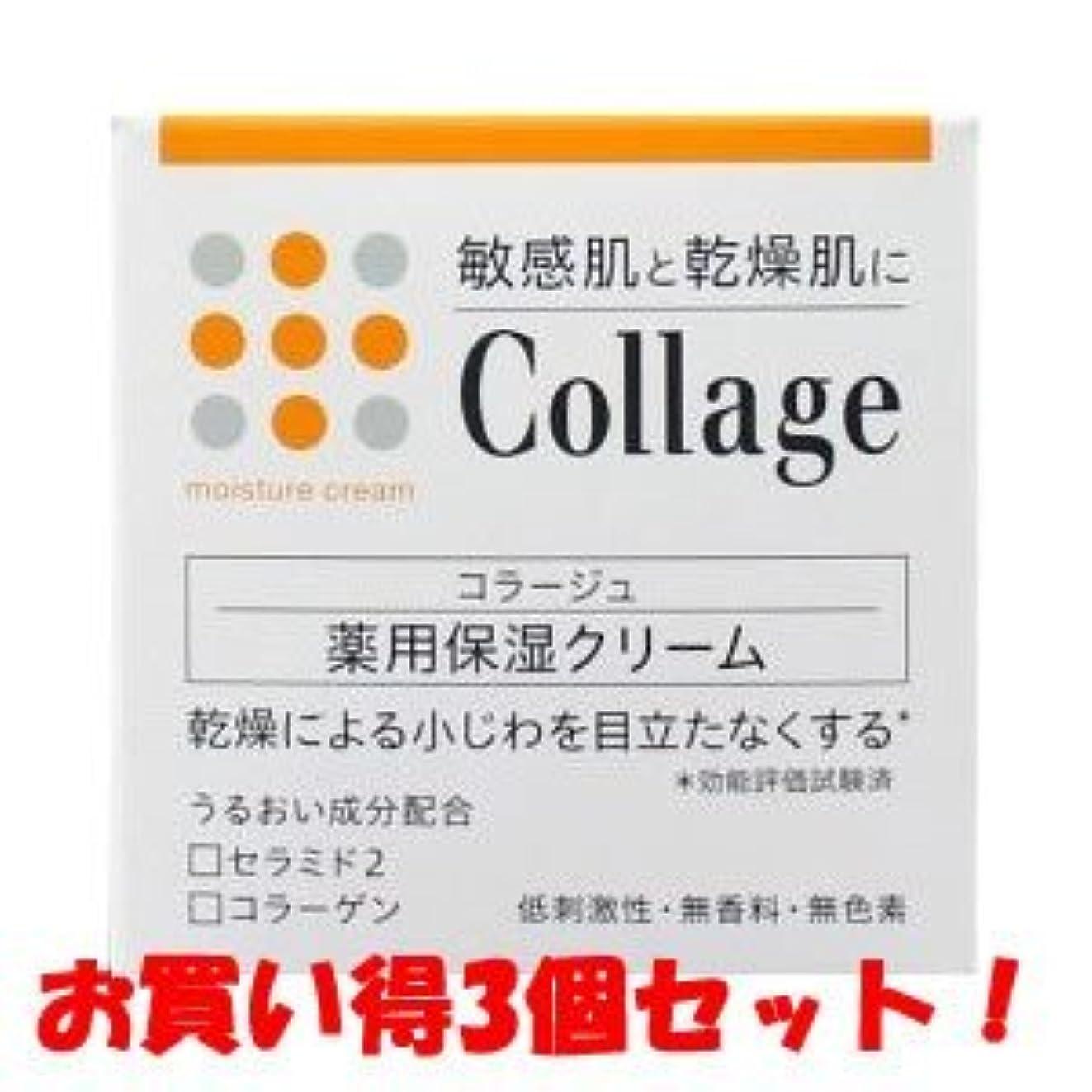 縁石怠惰ハブブ(持田ヘルスケア)コラージュ 薬用保湿クリーム 30g(医薬部外品)(お買い得3個セット)