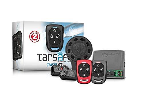 Alarme Taramps TW20 G4 02 Controles Normais Alarme Automotivo, Preto, Pequeno