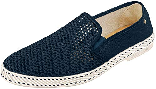 Rivieras Classic 20 Unisex Espadrille Shoes in Marine - 10.5 US