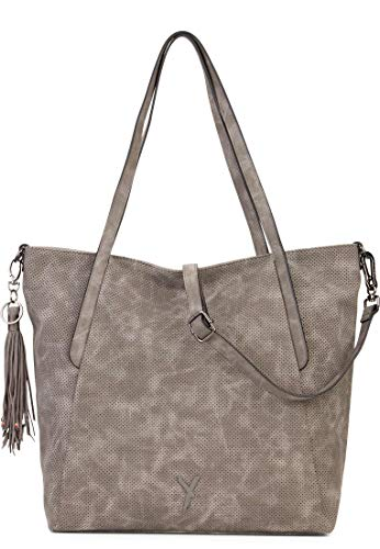 SURI FREY Shopper Romy 11882 Damen Handtaschen Uni darkgrey 840 One Size