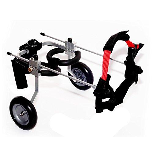 Mejor Amigo Mobility bfms-s & J Elite Perro Silla de Ruedas, Small