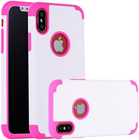 iPhone X Case CaseHQ Slim Silicone TPU Hard PC 2in1 Dual Protective Bumper Shock Absorbing Scratch product image