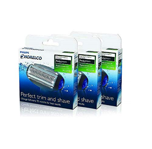 Philips Norelco Bodygroom Replacement Trimmer/Shaver Foil (Pack of 3)