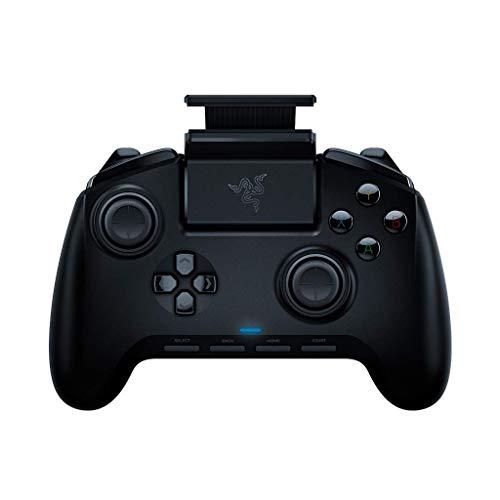 Razer Raiju Mobile: Ergonomic Multi-Function Button Layout - Hair Trigger Mode - Adjustable Phone Mount - Mobile Gaming Controller for Android (Renewed)