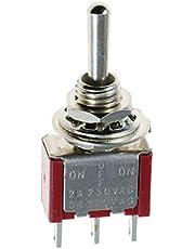 Nosii 5 Stks/set SPDT 12 V Mini AAN UIT OP Toggle Schakelaar Auto Dash Dashboard Boot Schakelaar