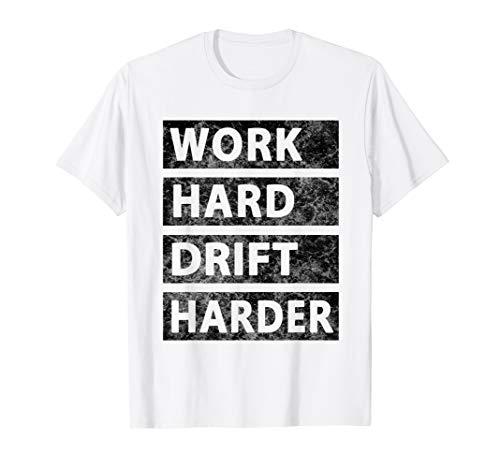 Drôle EAT SLEEP DRIFT homme noir FUNNY NOVELTY MX5 GT86 Drift Voiture T-Shirt