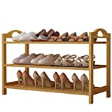 UDEAR Bamboo Shoe Rack 5-Tier Shoe Storage Organizer Entryway Shoe Shelf