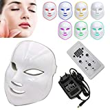NBD 7 color LED máscara Light Therapy LED máscara Photon, Beaut Facial el cuidado de rajeunissement de la piel fototerapia Tratamiento máscara