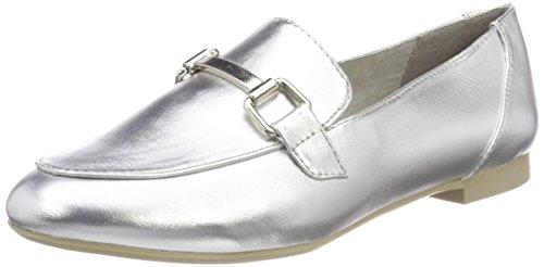 Marco Tozzi Damen 24207 Slipper, silber (silver), 41 EU
