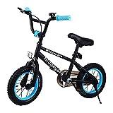 Muguang - Bicicleta BMX con sistema de rotor Freestyle 360º, 12 pulgadas, bicicleta...