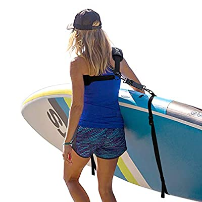 Ayaport SUP Stand-up Paddleboard Carrier Surfboard Storage Sling Heavy Duty Carrying Shoulder Padded Straps