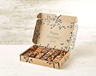 Incredibly indulgent 12 Handmade assorted Nut-free Brownies Salted Caramel brownies, Triple Chocolate brownies and Raspberry blondies Beautifully Packaged Gift Box Handmade and Freshly baked to order Using the Finest Belgian Chocolate Personal messag...