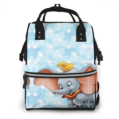 NHJYU Bolsa de pañales Mochila - Flying Dumbo Multifunction Waterproof Travel Mochila Maternity Baby Nappy Changing Bags