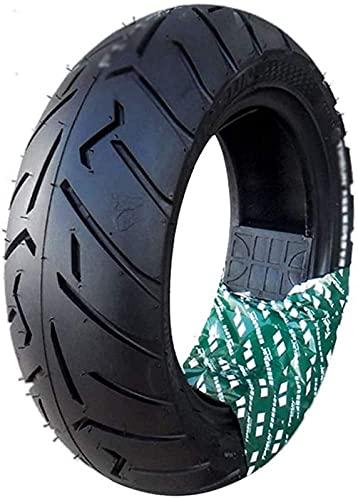 130/70-10 Neumáticos de vacío Antideslizantes Resistentes al Desgaste, versión Mejorada con patrón más Profundo, adecuados para Accesorios de Motocicletas eléctricas, fácil instalación