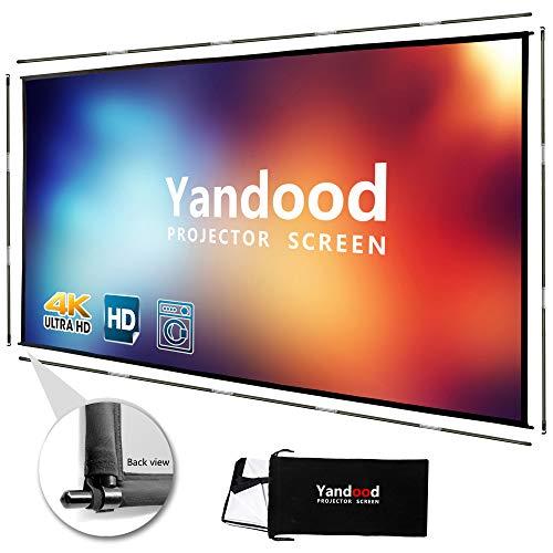 Yandood Portable Projector Screen 120 inch
