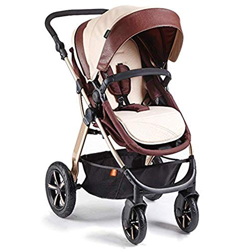 Find Discount Goquik Baby Stroller Reversible High Landscape with Bassinet Compact Pushchair Suitabl...