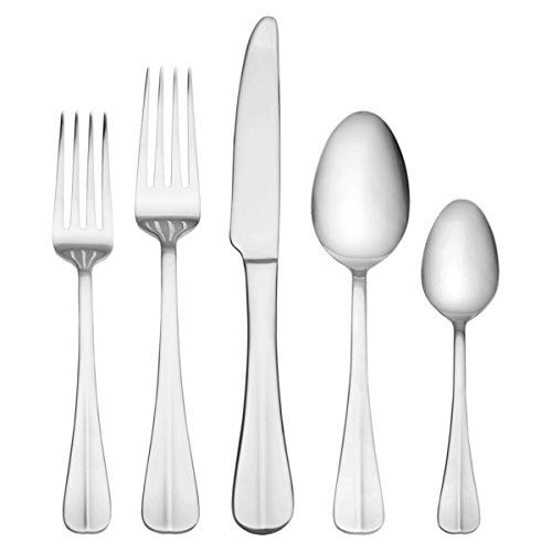 International Silver Simplicity 53-Piece Stainless Steel Flatware Set - $40.20