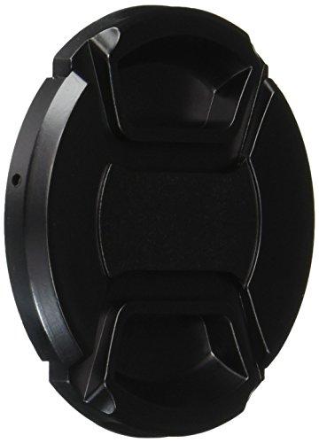 eForCity 309633 58mm Negro Tapa de Lente - Tapa para Objetivos (5,8 cm)