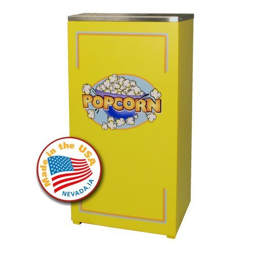 Affordable Yellow Stand for Cineplex 4 oz. Red Popcorn Popper