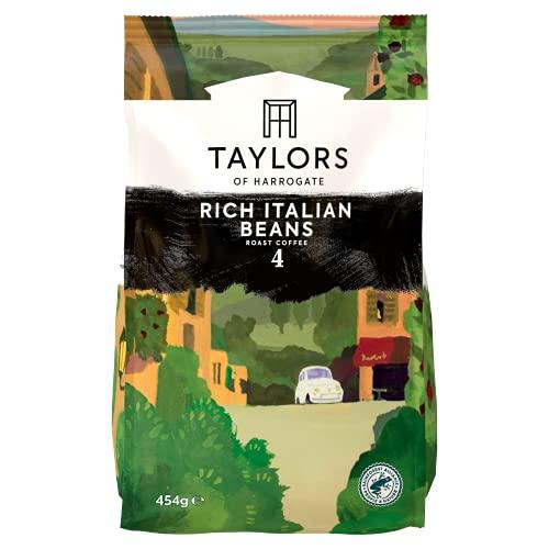 Taylors of Harrogate Rich Italian Coffee Beans, 454 g (Pack of 3)