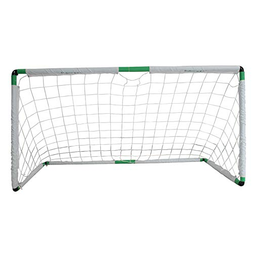 EODPOT Five player training net, Junior Football Team Football Target Goal, Portable Duty Weatherproof Durable Sports Soccer Nets, Storage bag