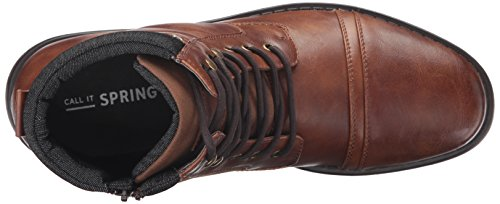 Call It Spring Men's Adisien Ankle Bootie, Cognac, 7.5 D US