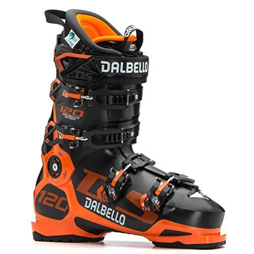 Dalbello DS 120 MS Black/Orange, Scarponi da Sci Uomo, Nero, 27.5