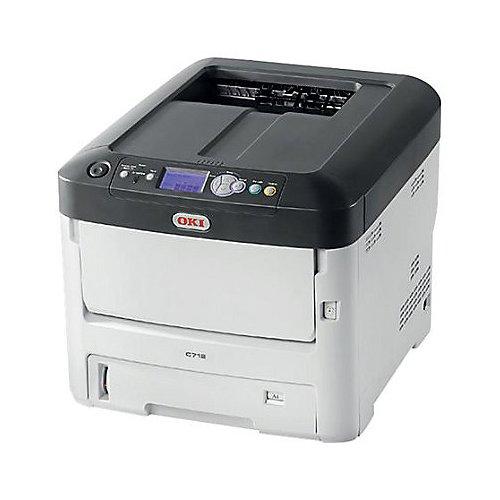 OKIDATA C712dn Wireless Color Printer