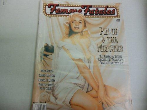 Femme Fatales Busty Adult Magazine 'Jeanne Carmen' 'Brinke Stevens' Vol.4 No.2 1995