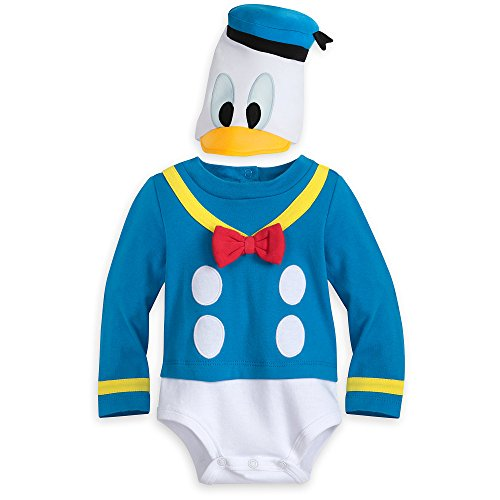 Disney Disfraz de pato Donald para bebé - - 18-24 meses