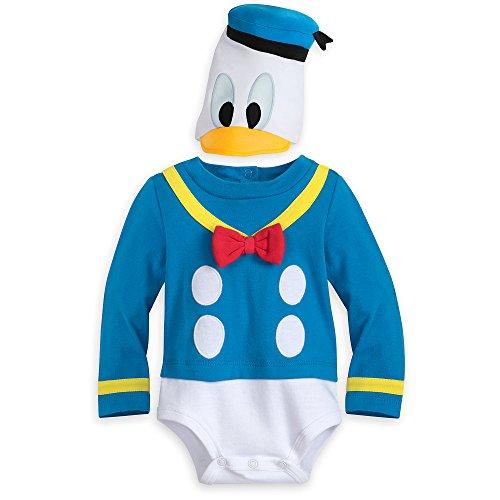 Disney Disfraz de pato Donald para beb - - 3-6 meses