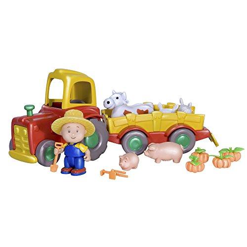 Caillou - Tractor con Animales (Giochi Preziosi 11020)
