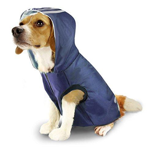 SymbolLife Perro Impermeable Impermeable Mascota Chaqueta Sudaderas Perro Al Aire Libre Ropa Ligero