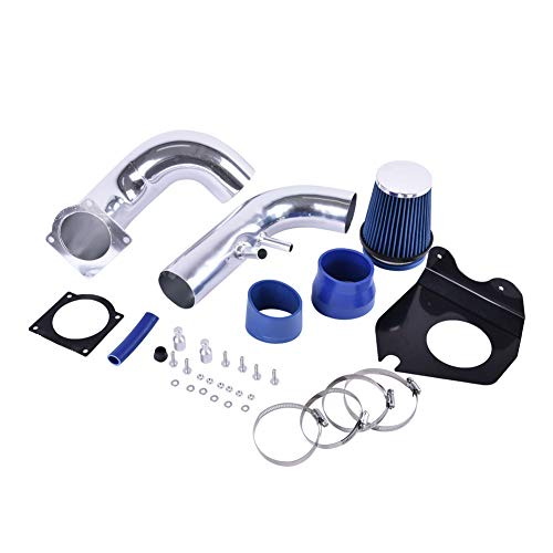 ACUMSTE Blue Cold Air Intake Kit with Dry Filter Fit for 1996-2004 Ford Mustang ...