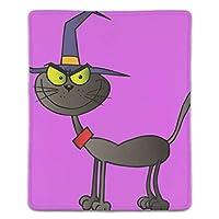 ゲーミング向け 大型マウスパッド デスクマット黒猫の魔女 防水材質 水で洗えるマウスパッド