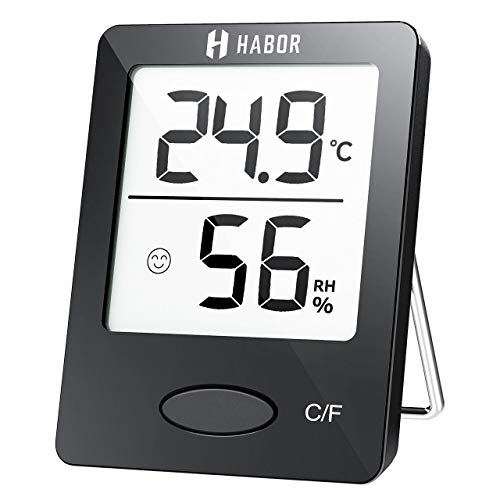 Habor Mini Thermomètre Hygromètre...