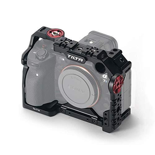 (Black) TILTA TA-T18-FCC-B Full Camera Cage para Sony Alpha 7S III / A7S III / A7S3 Cámara Jaula Tiltaing Rig