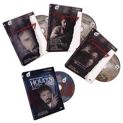 Murphy's Escapology Volumes 1-3 + Bonus: Houdini Lives (4 DVD Set) by Dixie Dooley - DVD