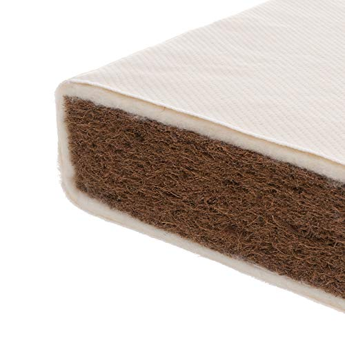Obaby Natural Coir Wool Cot Bed Mattress