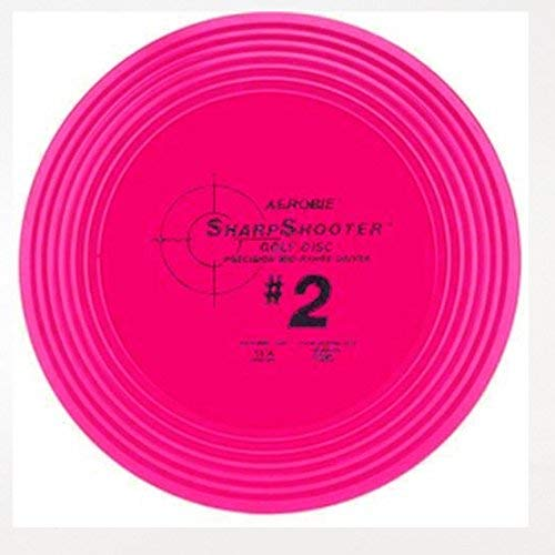 Aerobie Sharpshooter #2 Golf Sisc MidRange Frisbee  Dark Pink