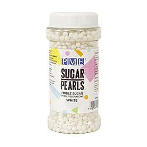 Perlas de Azúcar PME Blancas 100 g