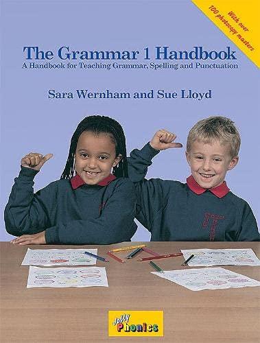 The grammar handbook. Per la Scuola elementare (Vol. 1): In Precursive Letters (British English edition) (Jolly Grammar S.)