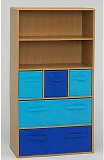 4D Concepts Boy's Storage Bookcase, Beech