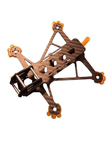Usmile Dragon Frog 3 Inch 139mm Cinewhoop Whoop Frame Kit for DJI Caddx Vista Digital hd System RC Drone FPV Racing Carbon Fiber Quadcopter Drone Frame