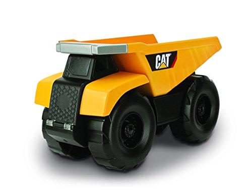 Hot Wheels Cat véhicule de travaux publics et Construction Big Builder à Distance (avec câble) Camion Benne